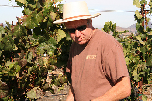 Winemaker Christian Roguenant