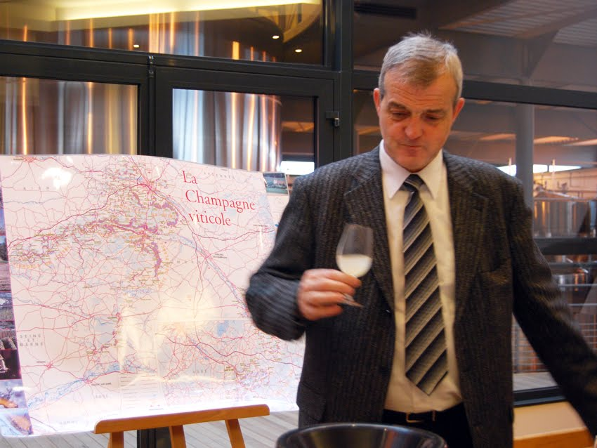 Regis Camus, Ched de Cave of both Piper-Heidsieck and Charles Heidsieck Champagnes.